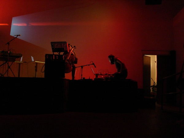 Photo taken by Michael Karman at the Electrogals 2008 festival.